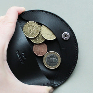 Protractor coin case