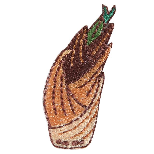 Embroidery patch ''Kyo Bamboo shoots''