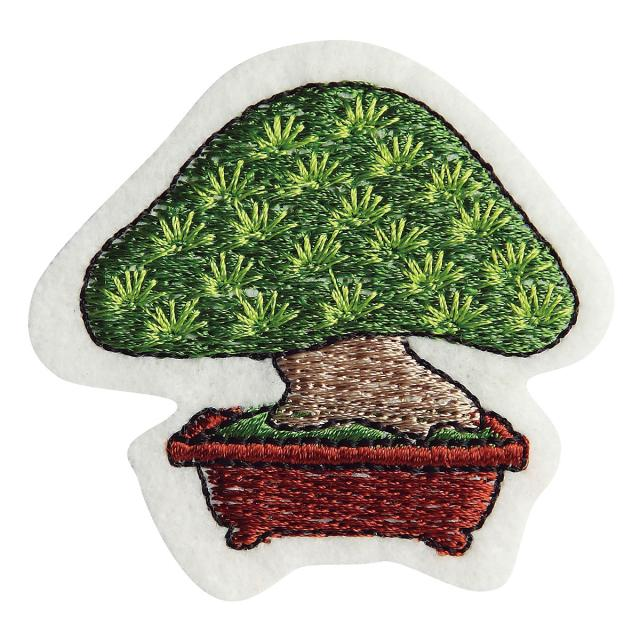 Embroidery patch ''Japanese white pine''
