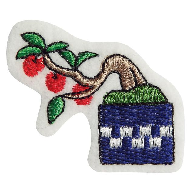 Embroidery patch ''Crabapple''