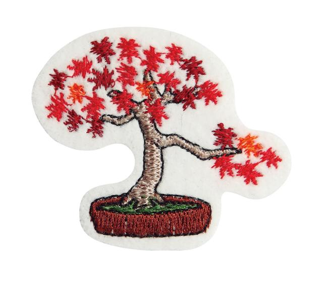 Embroidery patch ''Maple''