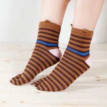 "Tabi Socks / ""Tora"" Tiger Cat"
