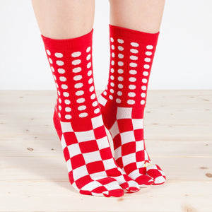 Tabi Socks / Dots and Squares