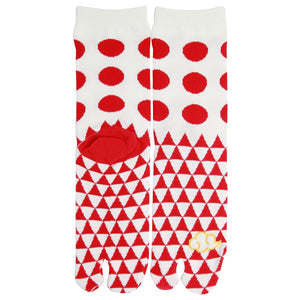 Tabi Socks / Dots and Triangles