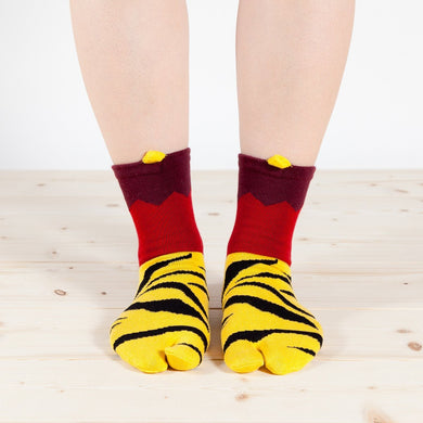Tabi Socks / Red Ogre