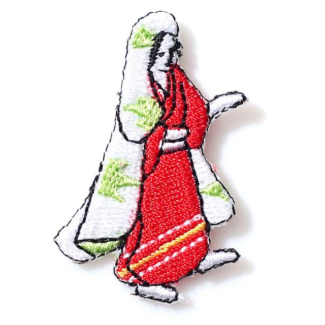 Embroidery patch ''Lady 2''