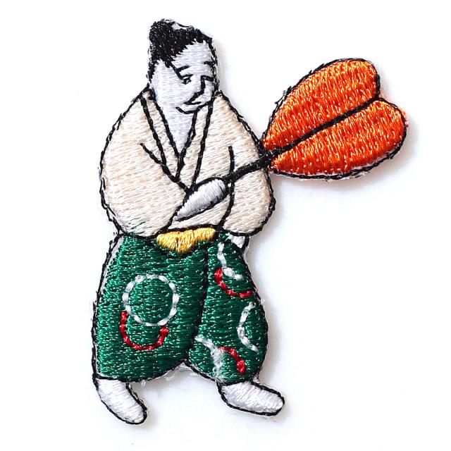 Embroidery patch ''Attendant of a retired man''