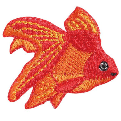 Embroidery patch ''Ryukin Goldfish''