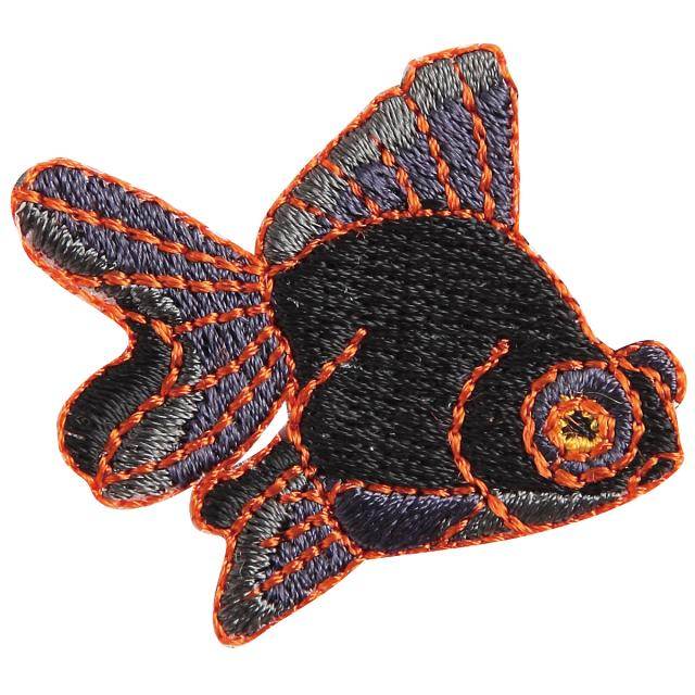 Embroidery patch ''Black Moor''
