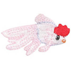 Embroidery patch ''Red Cap Oranda''