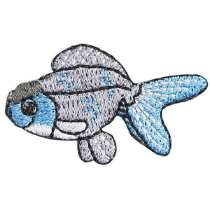 Embroidery patch ''Blue Oranda''