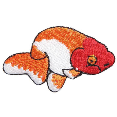 Embroidery patch ''Ranchu Goldfish''