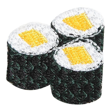 Embroidery patch ''Shinko-Maki'' (Pickled Radish Roll)