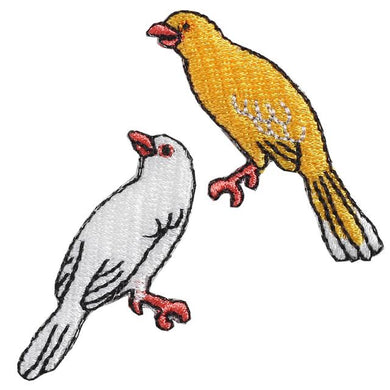 Embroidery patch ''Canary''