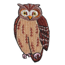 Embroidery patch ''Horned Owl''