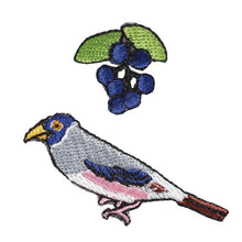 Embroidery patch ''Grosbeak''