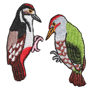 Embroidery patch ''Woodpecker''
