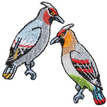 Embroidery patch ''Waxwing''