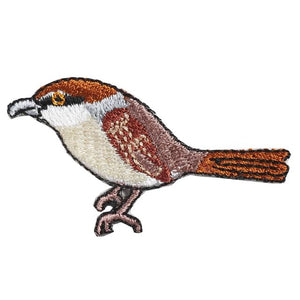 Embroidery patch ''Shrike''