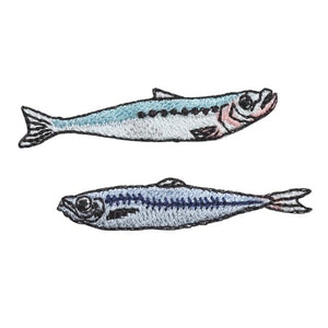 Embroidery patch ''Sardine / Horse Mackerel''