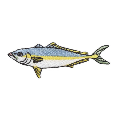 Embroidery patch ''Japanese Amberjack''