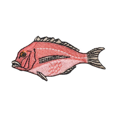 Embroidery patch ''Red Seabream''