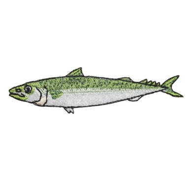 Embroidery patch ''Japanese Mackerel''