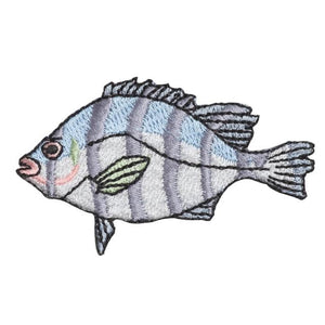 Embroidery patch ''Striped Beakfish''
