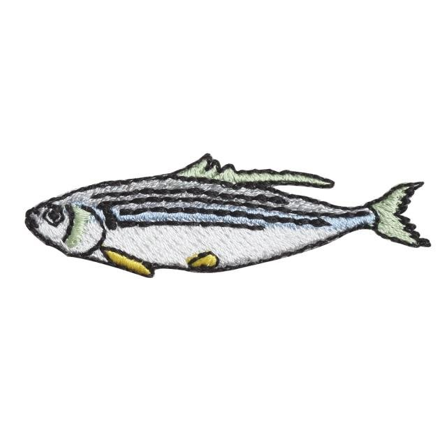Embroidery patch ''Gizzard Shad''