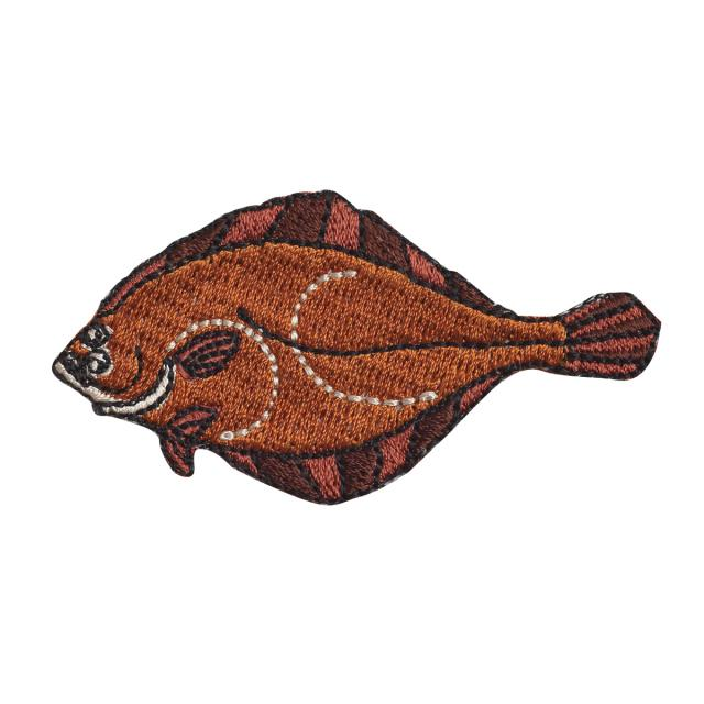 Embroidery patch ''Olive Flounder''