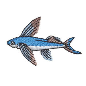 Embroidery patch ''Flying Fish''