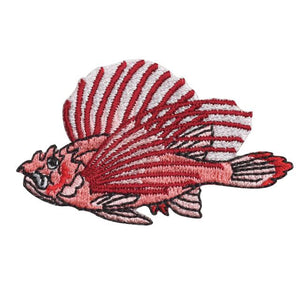 Embroidery patch ''Lion fish''