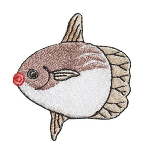 Embroidery patch ''Sun fish''