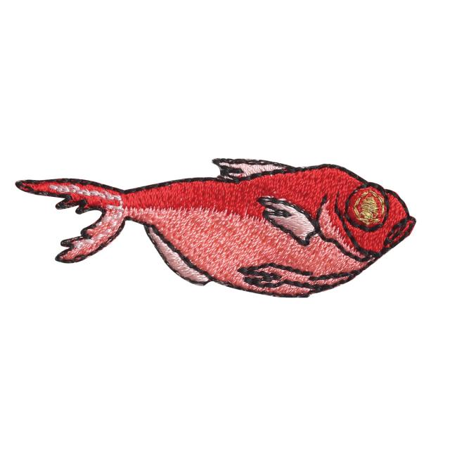 Embroidery patch ''Golden Eye Snapper''