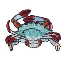 Embroidery patch ''Japanese Blue Crab''