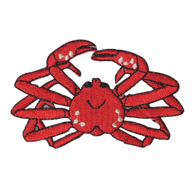 Embroidery patch ''Snow Crab''