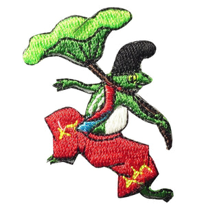 "Embroidery patch ""Frog"""
