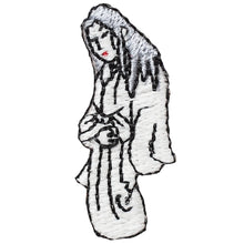 "Embroidery patch ""Yuki-onna the snow woman"""