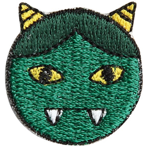 "Embroidery patch ""Green Ogre'' (Midori Oni)"