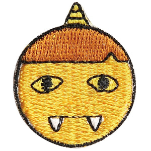 Embroidery patch 'Yellow Ogre'' (Ki oni)
