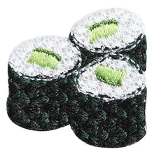 Embroidery patch ''Kappa Maki'' (Cucumber Roll)