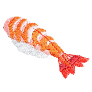 Embroidery patch ''Kuruma Ebi'' (Japanese Tiger Prawn)
