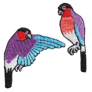 Embroidery patch ''Bullfinch''