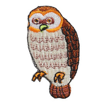 Embroidery patch ''Owl''