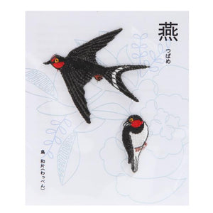 Embroidery patch ''Swallow''