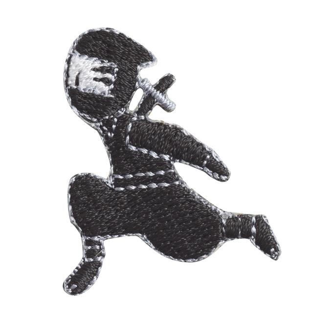 Embroidery patch ''The art of running''