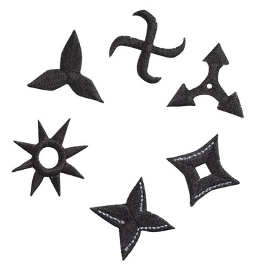 Embroidery patch ''Shuriken''