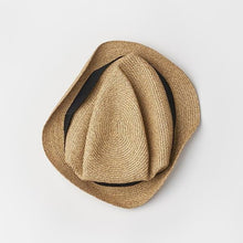 BOXED HAT for men / 4.5cm brim grosgrain ribbon