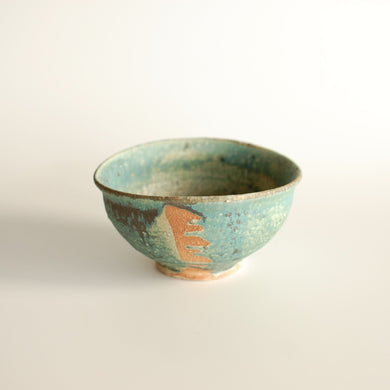 Michikazu Sakai, Matcha bowl, Wood fired kiln, Utsuwa, Japanese ceramic