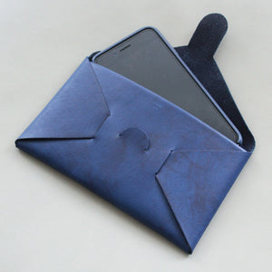 SEAMLESS long wallet / indigo